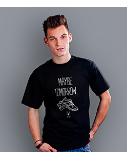 Maybe tomorrow… T-shirt męski Czarny S