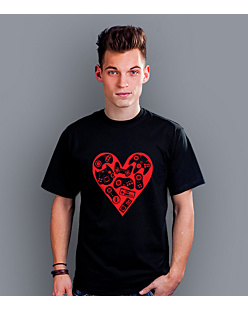 Games in my heart T-shirt męski Czarny S