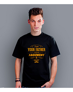 I'm your Father argument T-shirt męski Czarny S