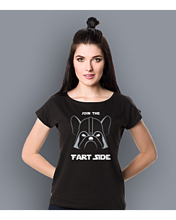 Join the fart side T-shirt damski Czarny XS