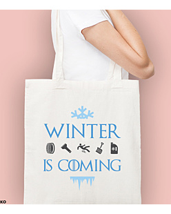 Winter is coming  Torba na zakupy Naturalna Universal