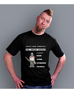 The Onion Knight T-shirt męski Czarny S