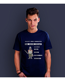 The Onion Knight T-shirt męski Granatowy XXL
