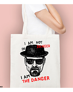 I AM THE DANGER Torba na zakupy Naturalna Universal