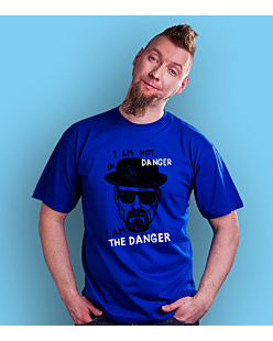 I AM THE DANGER T-shirt męski Niebieski S