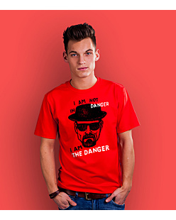 I AM THE DANGER T-shirt męski Czerwony S