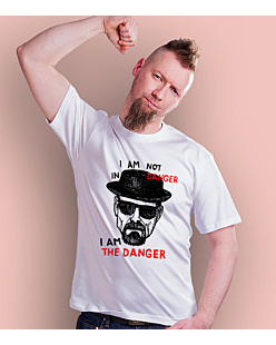I AM THE DANGER T-shirt męski Biały S