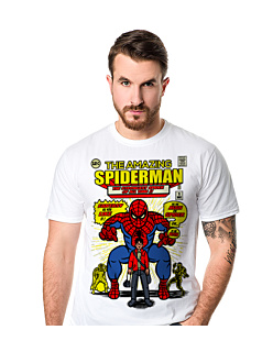 The Amazing Spiderman+ T-shirt męski Biały S