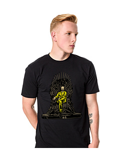 Danger Throne T-shirt męski Czarny S