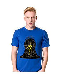 Danger Throne T-shirt męski Niebieski XXL