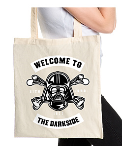 Welcome to the darkside+ Torba na zakupy Naturalna Universal