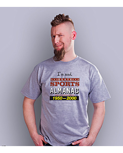 I've read Grays Almanac T-shirt męski Jasny melanż S