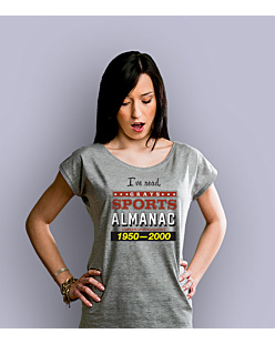 I've read Grays Almanac T-shirt damski Jasny melanż XS
