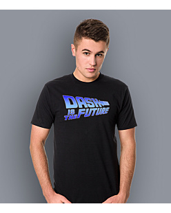 Dash Is The Future T-shirt męski Czarny L
