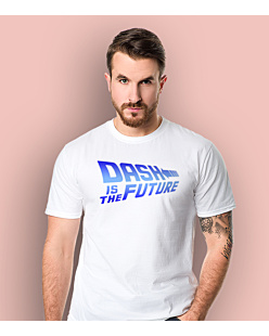 Dash Is The Future T-shirt męski Biały L