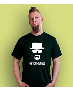 Breaking Bad Heisenberg T-shirt męski Ciemnozielony S