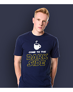 Come to the dark side T-shirt męski Granatowy S