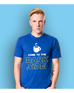 Come to the dark side T-shirt męski Niebieski S