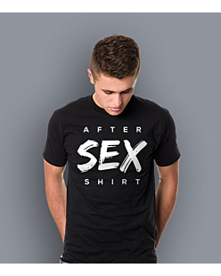 After Sex Shirt T-shirt męski Czarny S