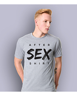 After Sex Shirt T-shirt męski Jasny melanż S