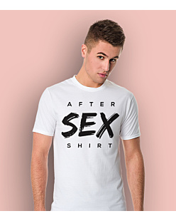 After Sex Shirt T-shirt męski Biały S