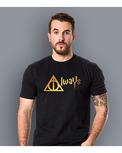 Always - Harry Potter T-shirt męski Czarny S