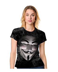 Anonymous guy fawkes T-shirt Damski FullPrint S