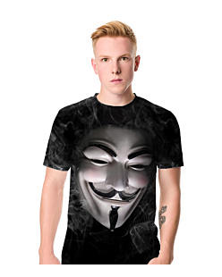 Anonymous guy fawkes T-shirt męski FullPrint S