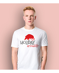 Friends - Holiday Armadillo T-shirt męski Biały L