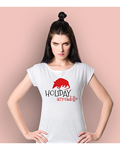 Friends - Holiday Armadillo T-shirt damski Biały XS