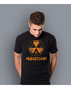 Call of Duty Nuketown T-shirt męski Czarny S