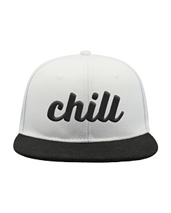 Chill - Czapka Snap Five Czapka Atlantis Snap Five Bianco-Nero U