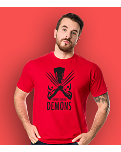 Wolverine - Confront Your Own Demons T-shirt męski Czerwony S