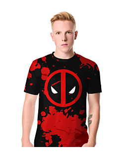 Deadpool Blood T-shirt męski FullPrint S