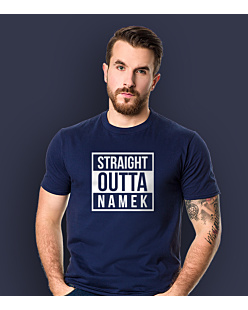 Dragon ball - Straight outta namek T-shirt męski Granatowy S