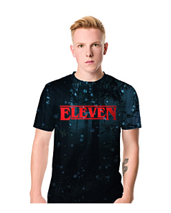 Eleven Stranger Things  T-shirt męski FullPrint L
