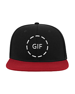 Gif - Czapka Snap Five Czapka Atlantis Snap Five Nero-Rosso U