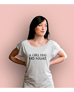 Girl has no name T-shirt damski Biały XS