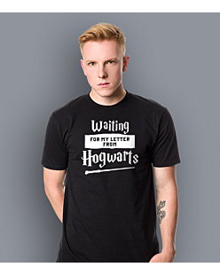 Waiting for my letter from Hogwarts T-shirt męski Czarny S