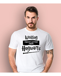 Waiting for my letter from Hogwarts T-shirt męski Biały S