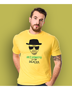 Heisenberg is my dealer T-shirt męski Żółty XXL