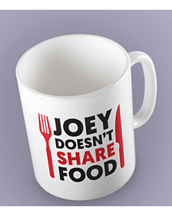 FRIENDS - JOEY DOESN'T SHARE FOOD Kubek Biały Universal