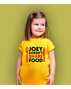 Joey Doesn't Share Food T-shirt dziecięcy Żółty 122