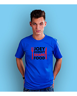 Joey Doesn't Share Food T-shirt męski Niebieski S