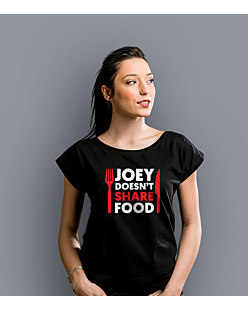 Joey Doesn't Share Food T-shirt damski Czarny XS