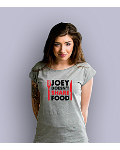 Joey Doesn't Share Food T-shirt damski Jasny melanż XS