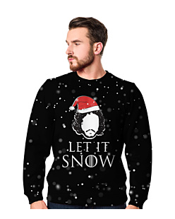 Let it snow gra o tron Fullprint Bluza Fullprint Męska XXL