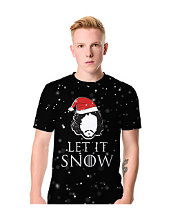 Let it snow gra o tron Fullprint T-shirt męski FullPrint XXL