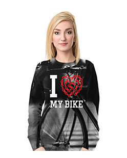 Love My Bike Fullprint Bluza Fullprint Damska S