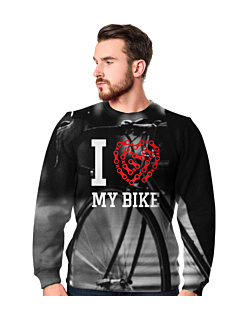 Love My Bike Fullprint Bluza Fullprint Męska S